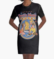 Teufelsmusik Sing-Along T-Shirt Kleid