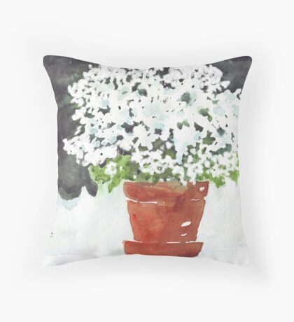 A Pot full of Dreams Throw Pillow