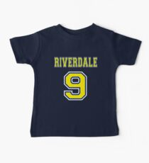 Riverdale #9 Football Jersey Baby Tee