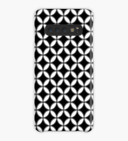 English B&W Print  Case/Skin for Samsung Galaxy