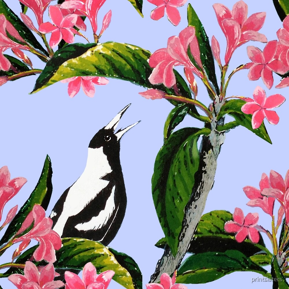 Singing in the Frangipani by printsisters