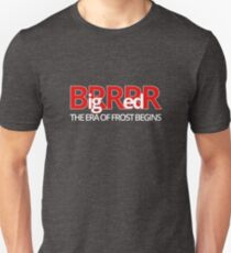 Big Red BRRR - Frost Football Unisex T-Shirt