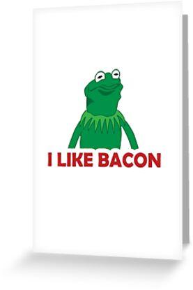 Kermit greeting cards by ghurt redbubble kermit by ghurt m4hsunfo