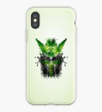 Rorschach Yoda iPhone Case