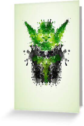 Rorschach Yoda by badbugs