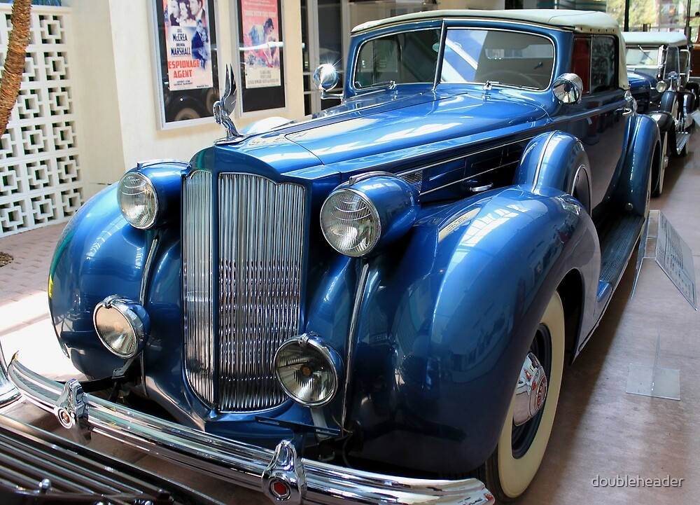 1938 Packard by doubleheader
