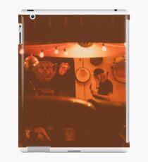 Garage in sepia iPad Case/Skin