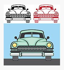 Old Fashioned Automobile Photographic Print