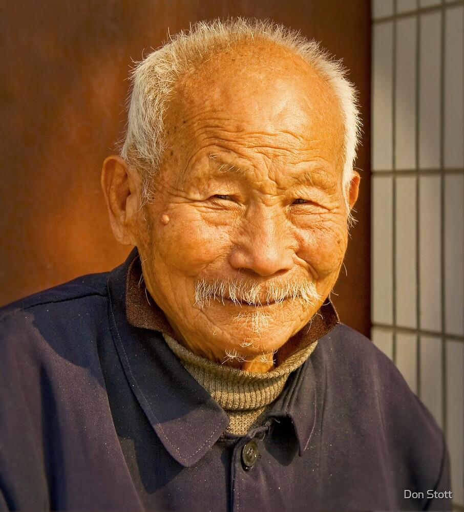 China Man from Henan by Don Stott