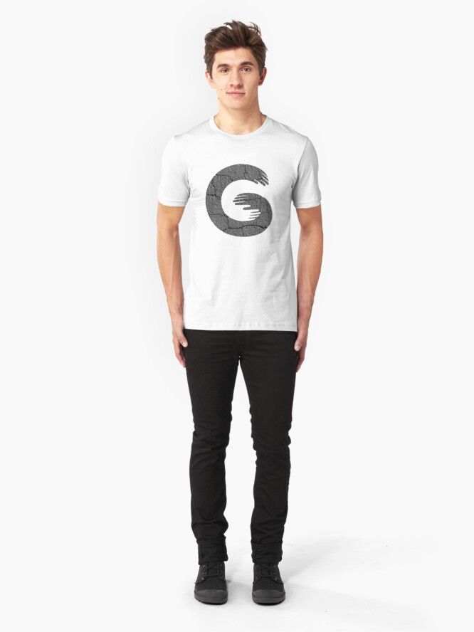 Alternate view of What Up G? Slim Fit T-Shirt