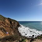 Cliffs of Point Dume by kristijacobsen