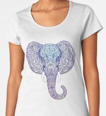 Elephant mandala Women's Premium T-Shirt