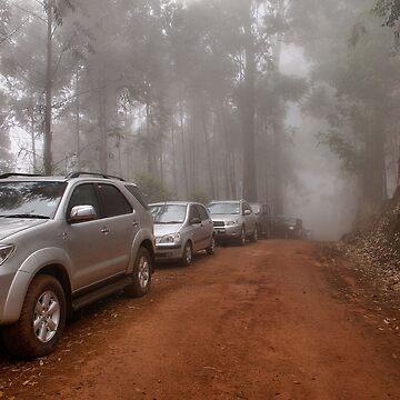 CONVOY IN THE MIST - Limpopo Province South Africa by mags