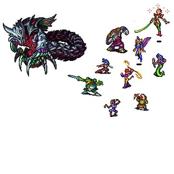 Breath of fire battle by CavedIn