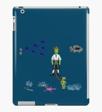 Guybrush drown iPad Case/Skin