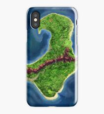 Monkey Island map iPhone Case