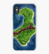 Monkey Island map iPhone Case