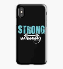 Strong Mommy iPhone Case/Skin