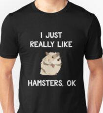 Funny Hamster Shirt, Gift for Hamster Lovers Unisex T-Shirt