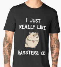 Funny Hamster Shirt, Gift for Hamster Lovers Men's Premium T-Shirt