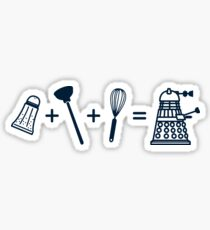 That's How Daleks are Made Sticker