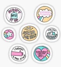 Self Care Sticker Pack Sticker
