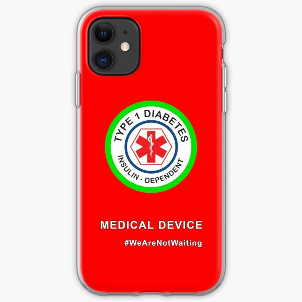 """Medical device"" phone case (red) iPhone Soft Case"