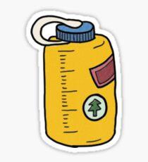 Yellow Nalgene Sticker