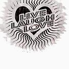Live Love Laugh Design by Shannon Rogers