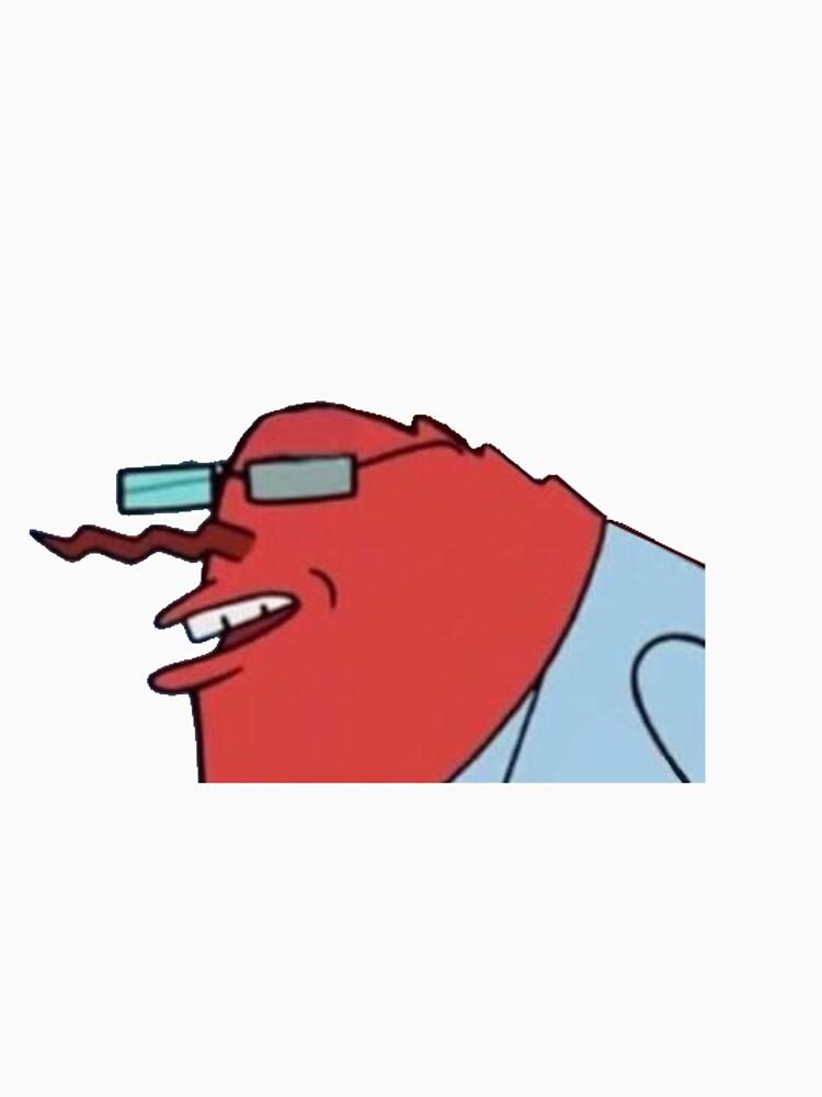 mr krabs hannibal buress meme classic t shirt by upthecreek90