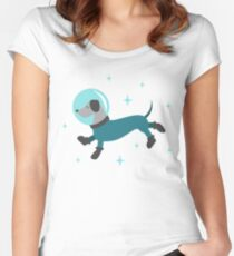 Dogs of the Future Women's Fitted Scoop T-Shirt