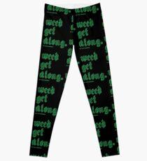 Weed Get Along Leggings