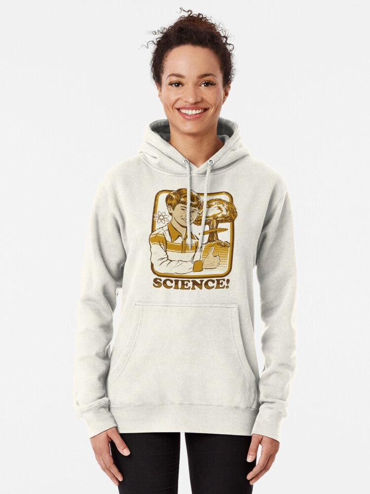 Alternate view of Science! Pullover Hoodie