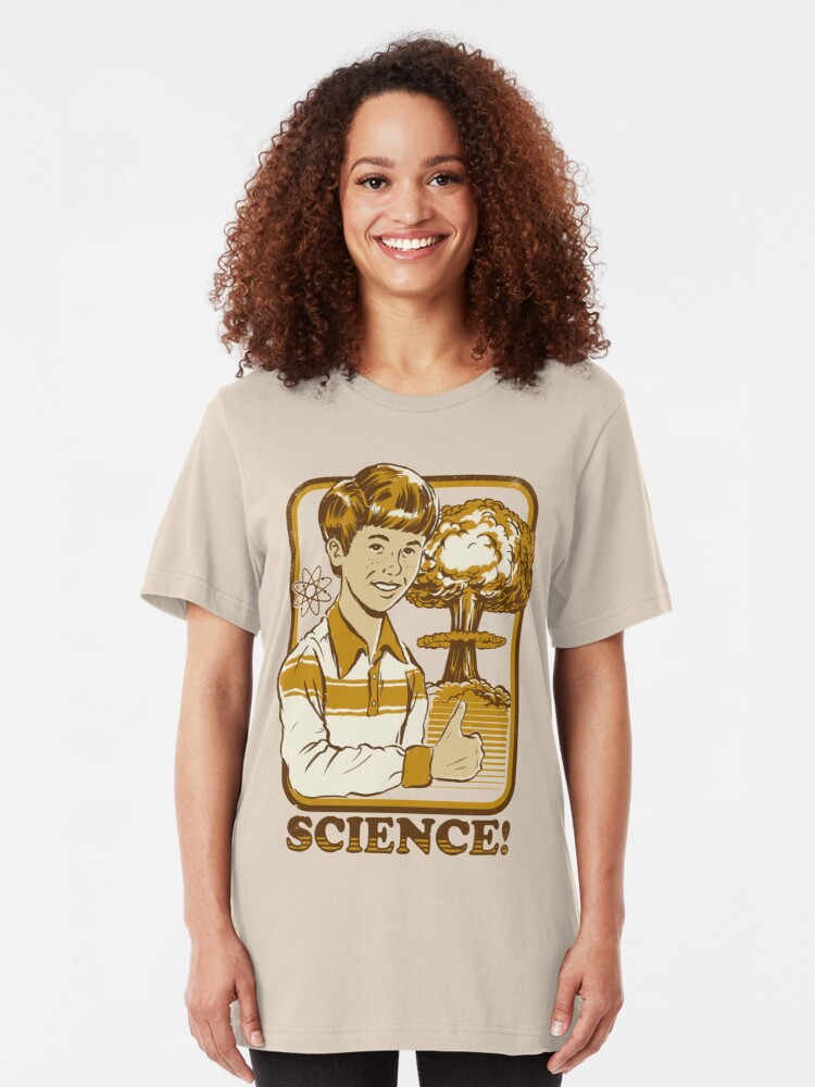 Alternate view of Science! Slim Fit T-Shirt