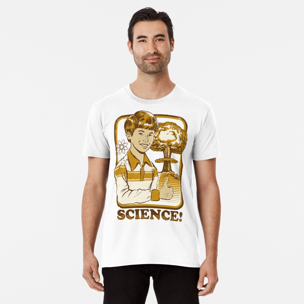 777a5c5df Science! by stevenrhodes. Science! Premium T-Shirt