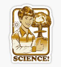 Pegatina ¡Ciencia!