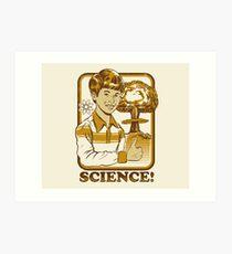 Wissenschaft! Kunstdruck