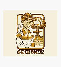 Wissenschaft! Fotodruck