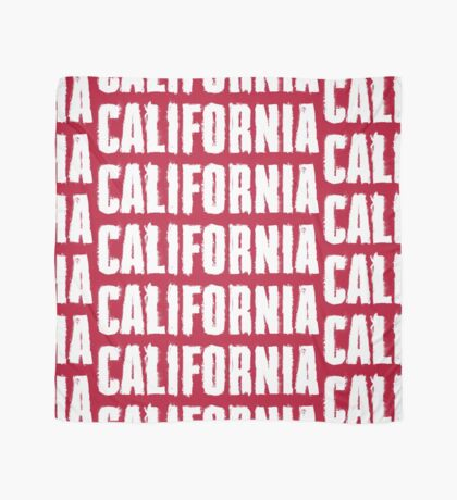 California Distressed Letters Scarf