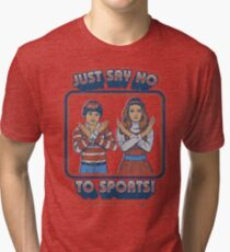 Sag Nein zu Sport Vintage T-Shirt