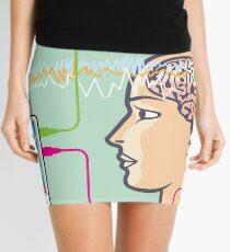 Brainwave monitor Mini Skirt