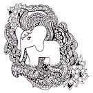 The Little Elephant by Marium Rana