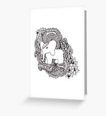 The Little Elephant Greeting Card