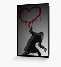 Nosferatu Heart Greeting Card