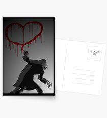 Nosferatu Heart Postcards