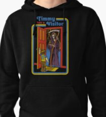 Timmy has a Visitor Pullover Hoodie