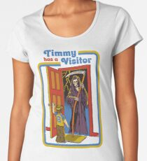 Timmy has a Visitor Women's Premium T-Shirt
