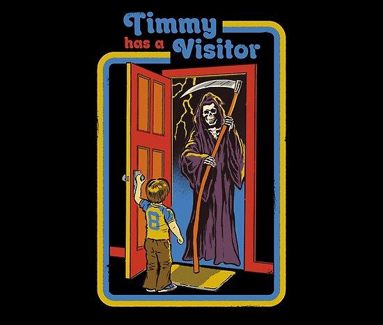 Timmy hat einen Besucher von Steven Rhodes