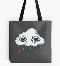 There's Something in the Clouds Tote Bag