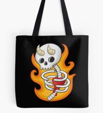 The Devil Inside Tote Bag